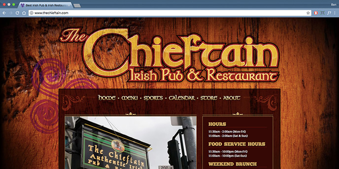 The Chieftain Irish Pub and Restaurant